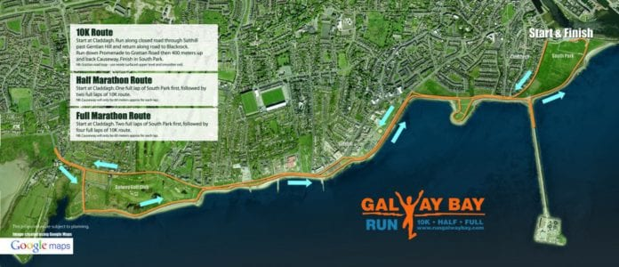 galway daily 10k run in galway october 7