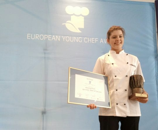 Galway Daily Winner of young chef award Aisling Rock