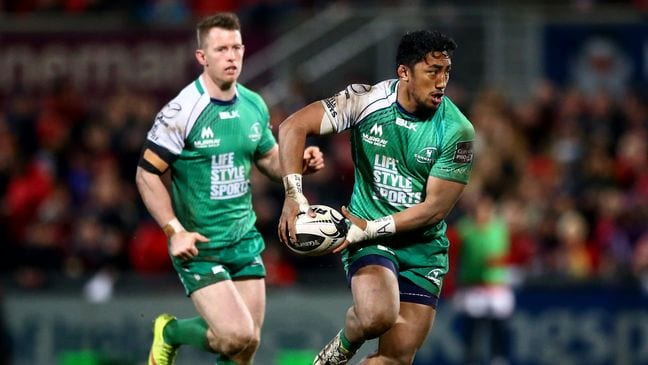 Galway Daily sport Aki and Oliver starting for Connacht against Bristol