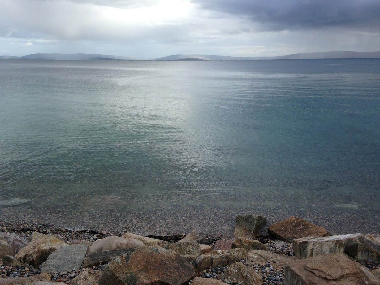 View from the Salthill Promenade