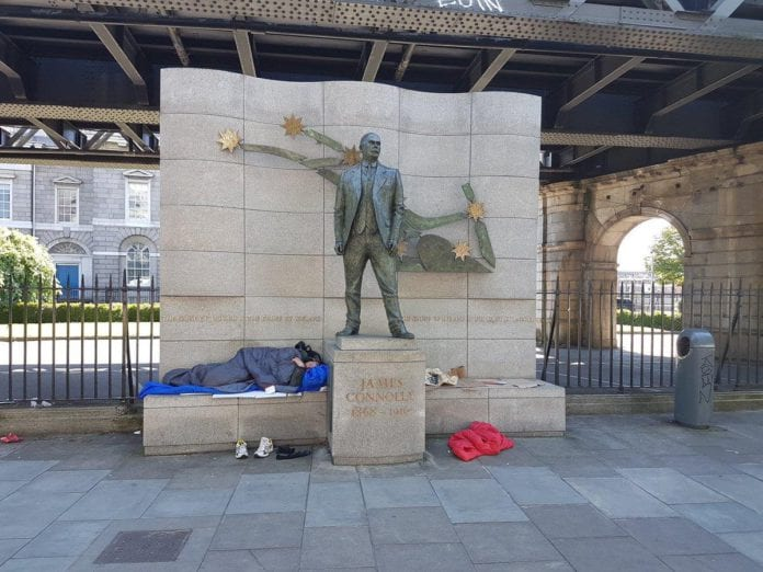 Homeless crisis GALWAY DAILY
