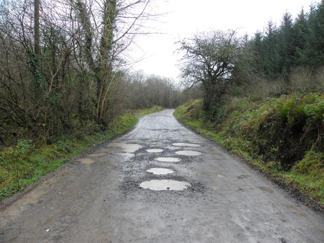 galway daily potholes on road
