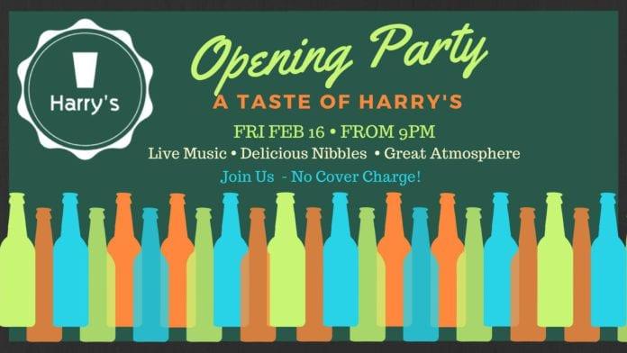Harrys Opening