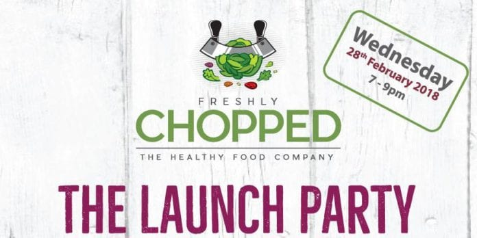 chopped launch party