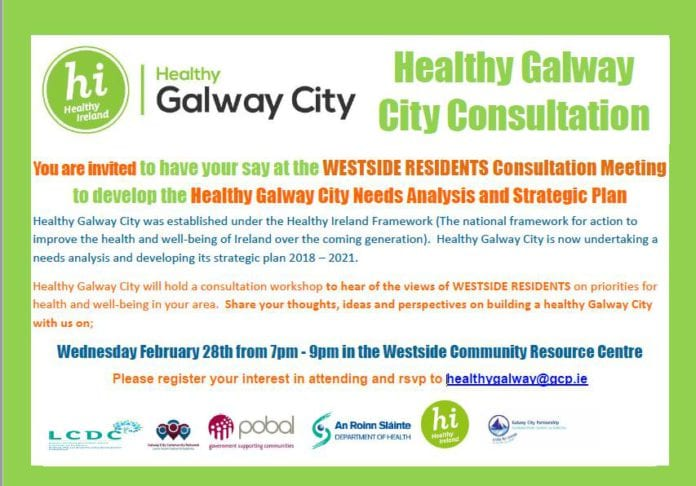 healthy galway city public consultation