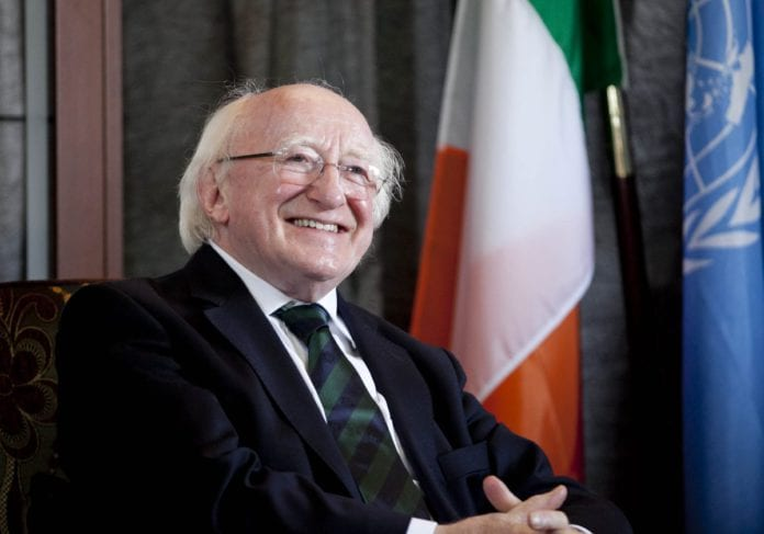 galway daily news President Higgins to officially open Galway 2020