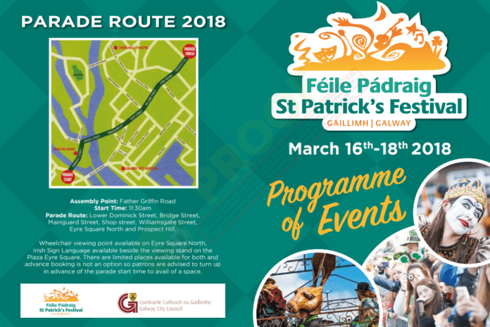 paddys day programme of events