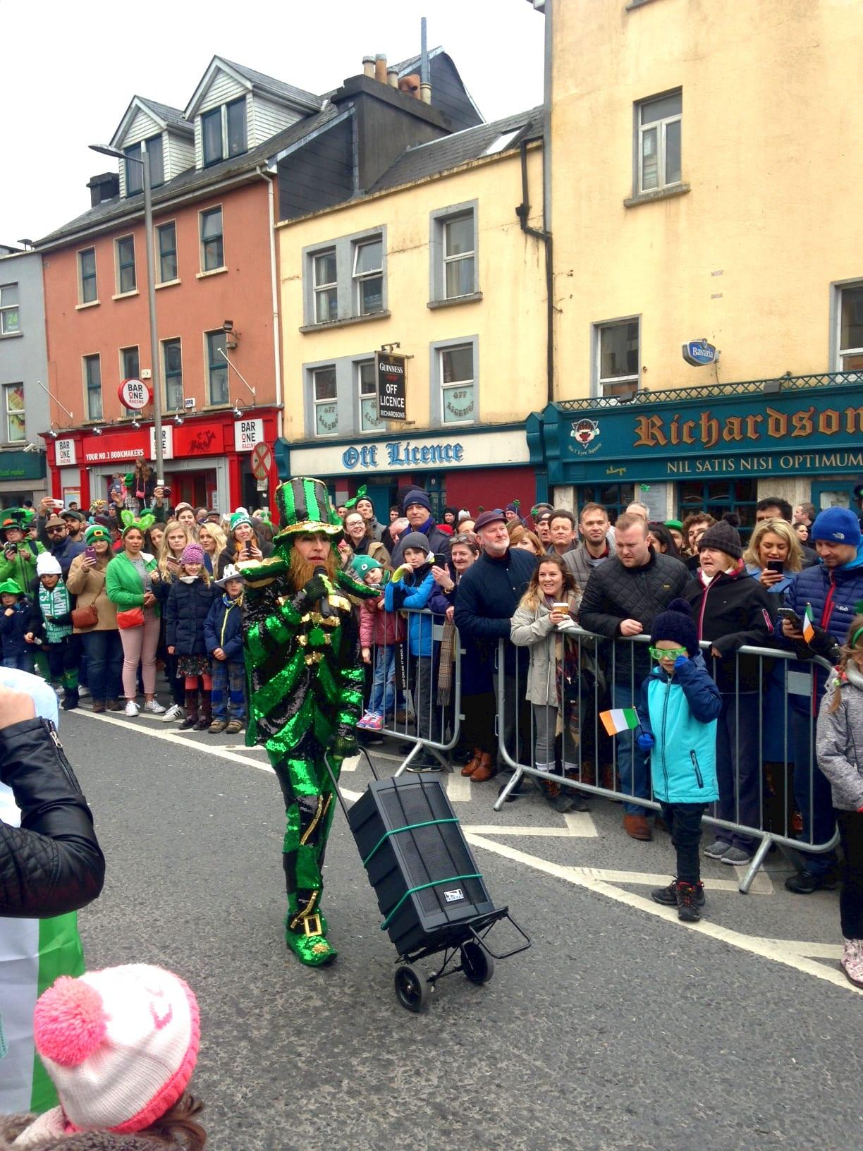 St. Patrick's Day Parade MC