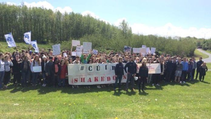 NUI Students Union rent increase cúirt shakedown