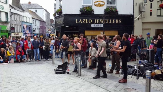 Galway Daily arts culture Galway Street Club say busking bylaws will