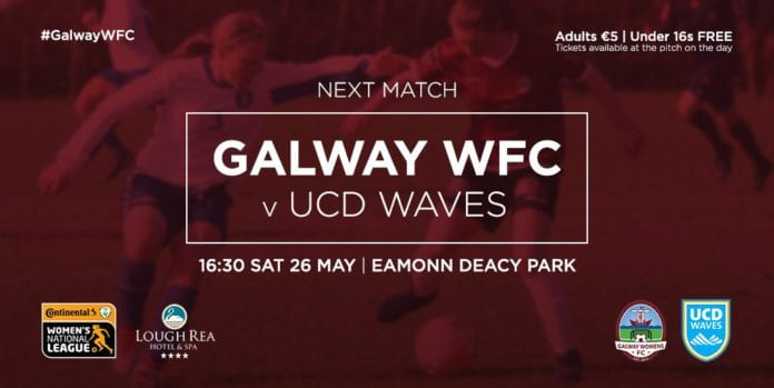 Galway WFC vs UCD Waves
