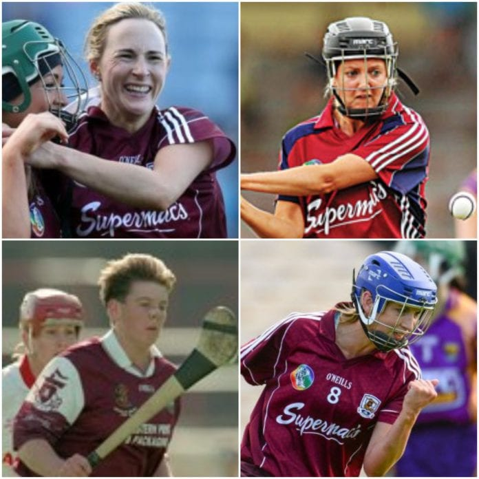 Therese Maher, Veronica Curtin, Sharon Glynn, Niamh Kilkenny,