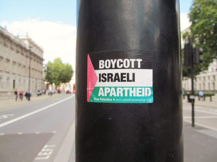 israel apartheid state boycot galway