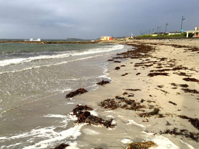 beach galway news high tide