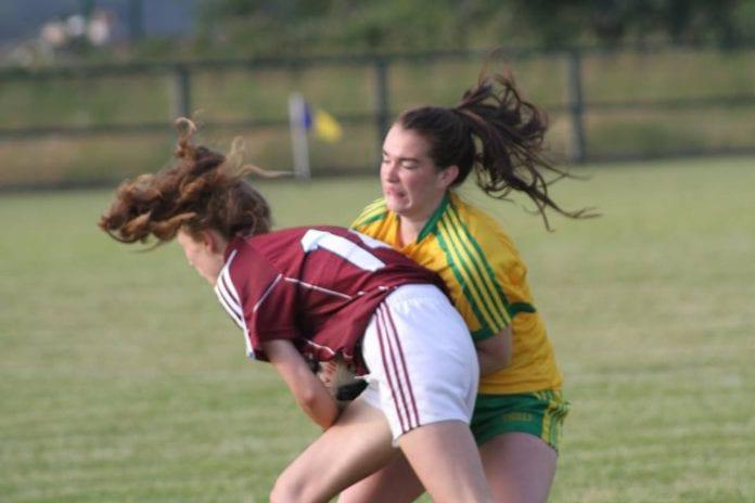 Galway Donegal u16 LGFA
