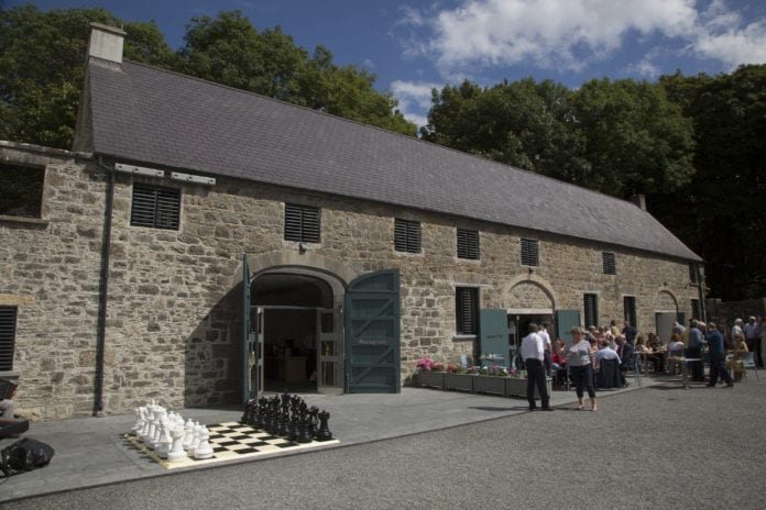 courtyard at portumna castle