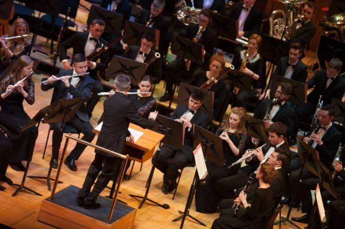 Galway Daily what's on The Youth Wind Ensemble perform at St. Nicholas'