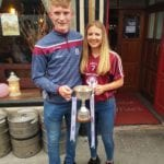 Conor Raftery and Lynsey Noone