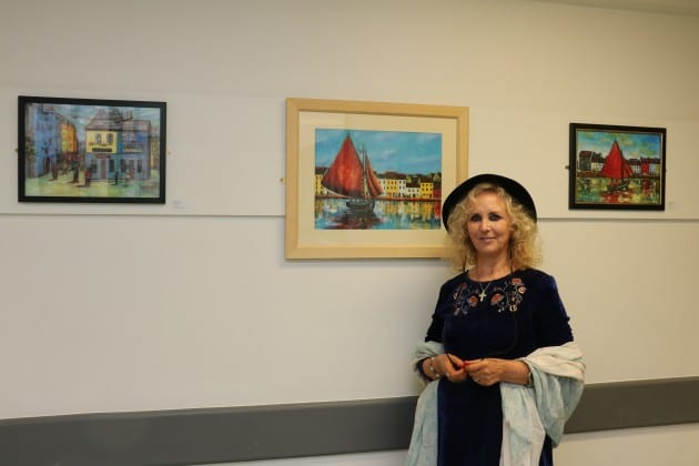 Galway Daily news self-taught artist's work goes on display at UHG