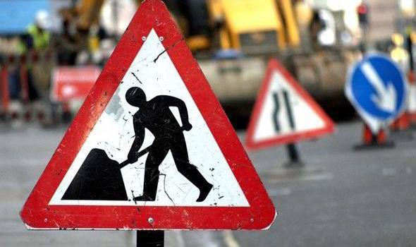 Galway Daily news N65 Roadworks disrupting Portumna traffic