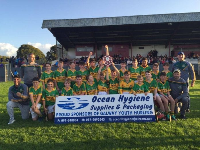Gort under 13 hurling team