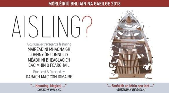Tús á chur le Mórléiriú Bhliain na Gaeilge 2018 Aisling? - Galway Daily