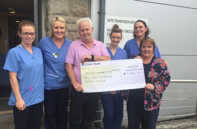 galway daily news Glenamaddy woman raises over two thousand for cancer patient fund at UHG