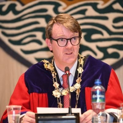Galway Daily news Mayor of Galway Niall McNelis shocked people stopped to film him being attacked