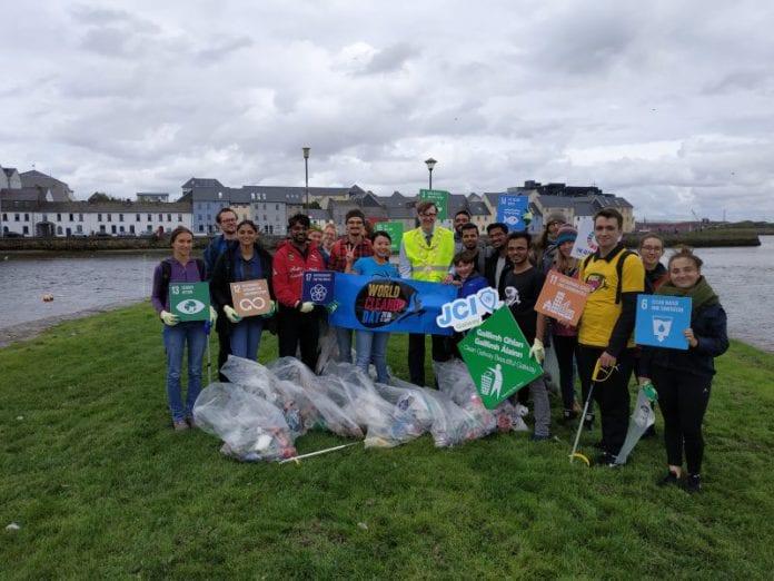 Galway Daily news Dozens of volunteers clean up rubbish in Galway's hotspots