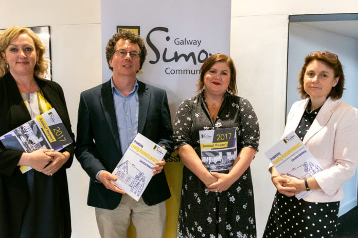 Galway Daily news Galway Simon reports highest ever demand for services last year at annual report launch