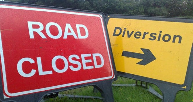 Galway Daily news Road closure for Labane roadworks today