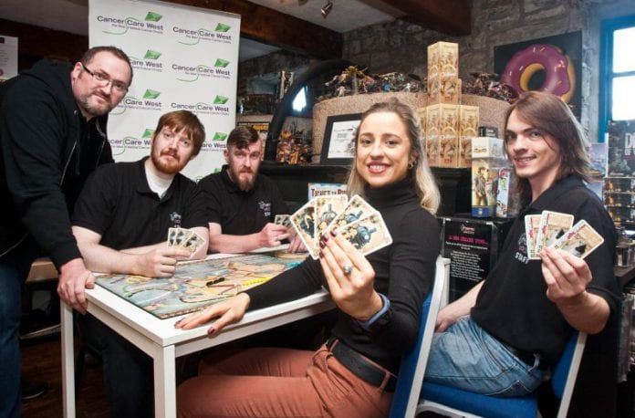 Galway Daily news raise money for cancer care west at gaming marathon in Galway this month