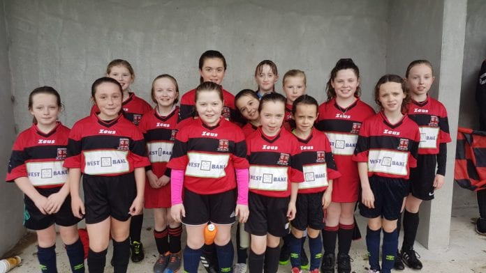 Glen Celtic u10 girls