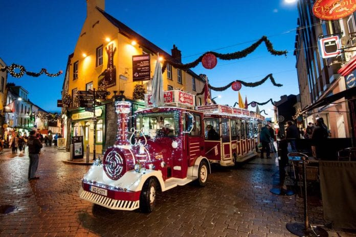 Galway Daily new Galway city Christmas lights