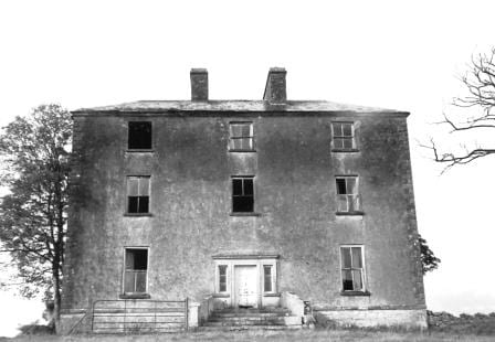 Rathpeak House (Photograph courtesy of Dr. Patrick Melvin & Eamonn de Burca)