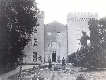 Castle Daly in its heyday