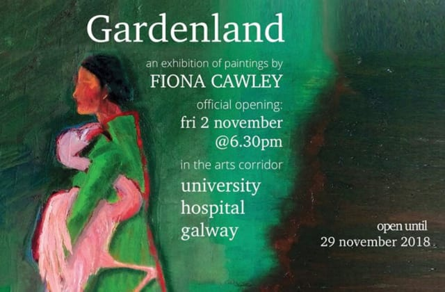 Galway daily life & style Galway artist brightens up UHG with beautiful landscapes