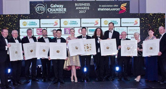 Galway daily news Shortlist revealed for Galway Chamber Business Awards