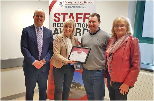 Galway Daily news first ever staff recognition awards at Galway University Hospitals