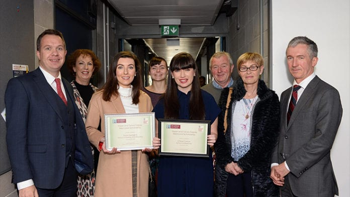 Galway daily news Scholarships honouring two sisters awarded at NUI Galway