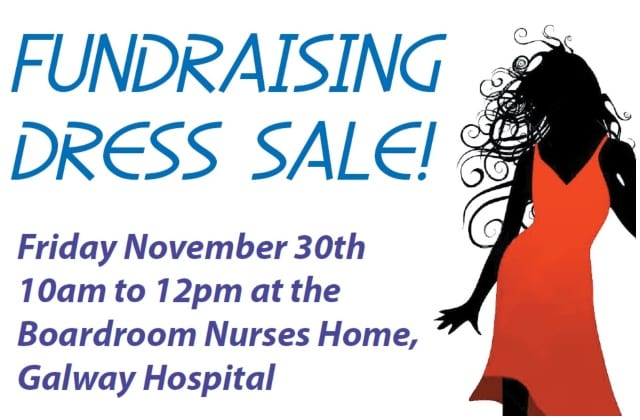 Galway Daily news Dress sale at UHG to raise money for GUH Arts Trust