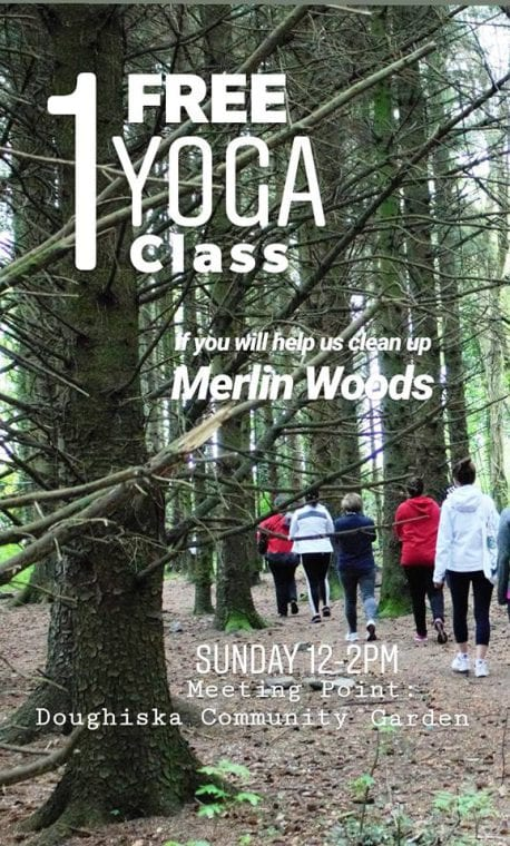 Galway News - What's On - free yoga class at Merlin Woods