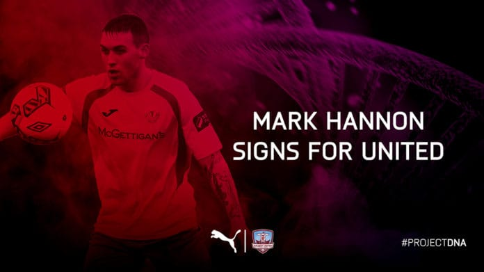Galway Daily news Mark Hannon is the first new Galway United signing for 2019
