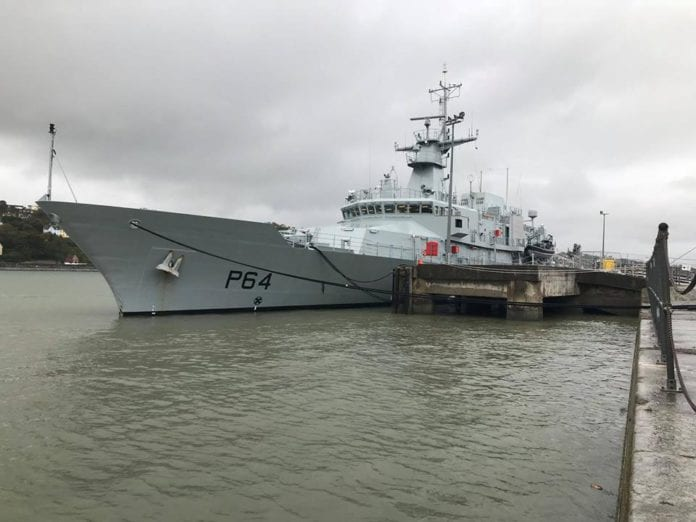 Galway Daily news Tour the newest ship in the Irish Navy over New Year's at the Docks