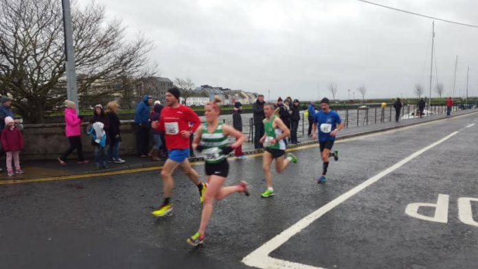 Galway Daily sport New Year's resolution run through Galway city