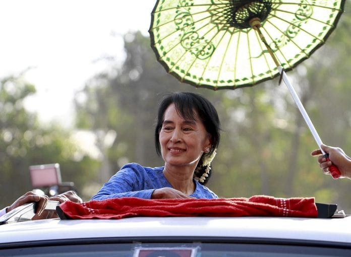 Galway Daily News council to debate revoking Suu Kyi's Freedom of the City