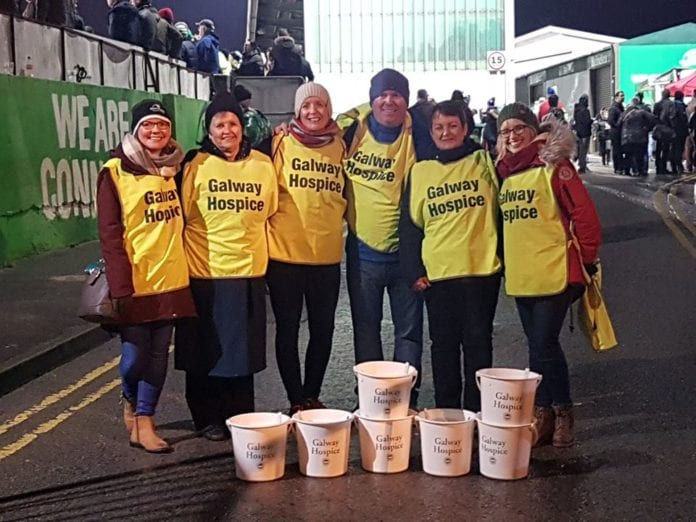 Galway Daily news Sportsground collection raises over €2,000 for Galway Hospice