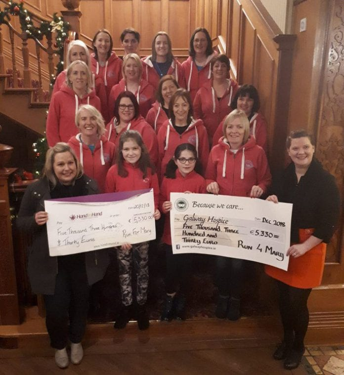 Galway Daily news Memorial run raises over €10,000 for two worthy causes