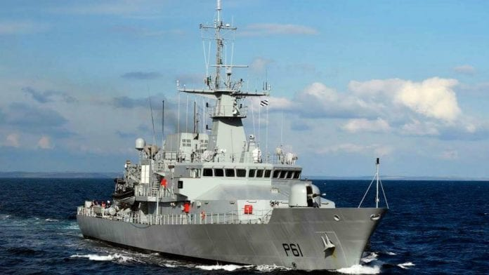 Galway Daily news LÉ Samuel Beckett open to the public in Galway this weekend
