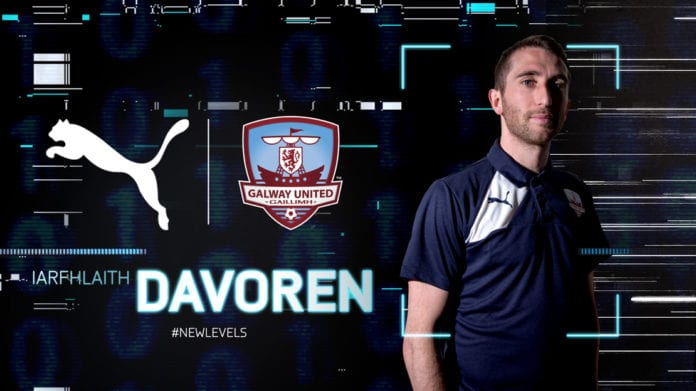 Galway Daily news Galway United sign Iarfhlaith Davoren as player coach